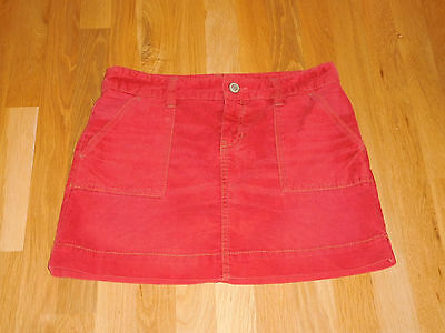 Womans Gap 1969 Limited Edition Corduroy Mini Skirt Rusty Red Size 4 Small CUTE!