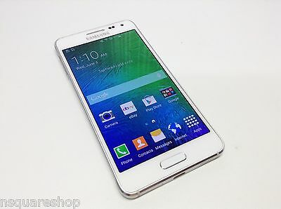 Samsung Galaxy Alpha SM-G850 - 32GB - Frost White Factory Unlocked Smartphone