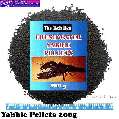 Yabby Pellet Food 200g for freshwater Yabbie and Crayfish