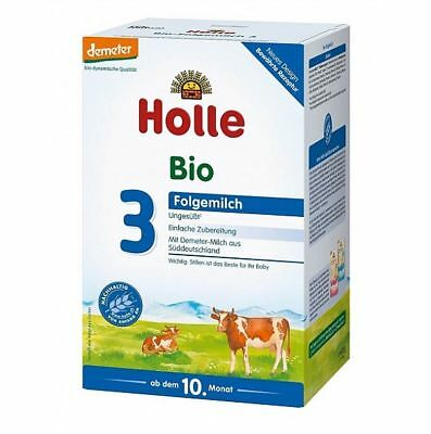 12 Boxes Holle Organic Stage 3 Baby Infant Formula / Exp.Date 03-2020  New