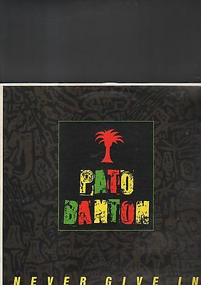 PATO BANTON - never give in LP