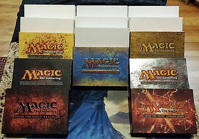 MTG Magic From The Vault Complete Set x7 Boxes Sealed Unopened Rare Hot Pimp OOP