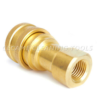"Female Quick Disconnect Coupler QD 1/4"" Carpet Cleaning Wand Truckmount Valve"