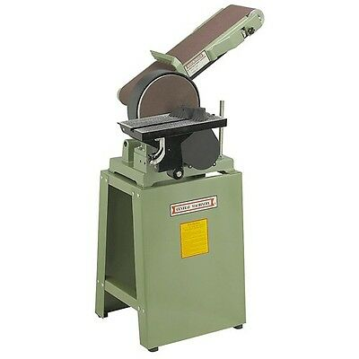 6 In. Belt And 9 In. Disc Combination Sander with Industrial Stand