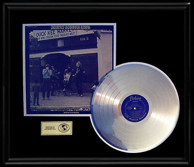 Creedence Clearwater Revival Willie And The Poor Boys Gold Record Platinum Disc