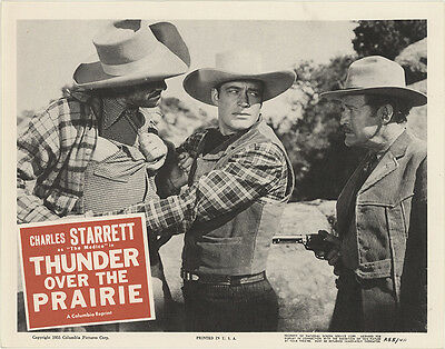 Thunder over the Prairie 1955 Original Movie Poster Western