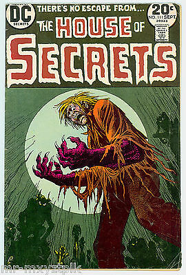 House Of Secrets #111 Vg-Fn Nick Cardy Cvr Classic Bronze Age Horror 1973