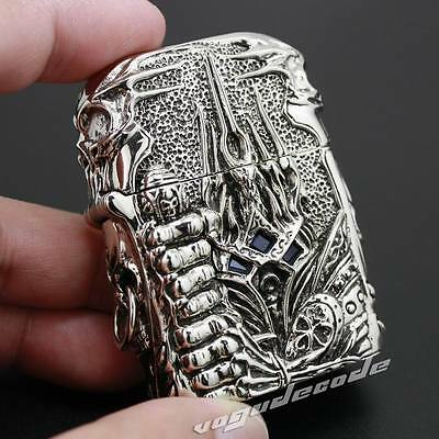 Unique Luxury Hand-carved Cupronickel Alloy Lighter Shell 6V004SC(Just Shell)