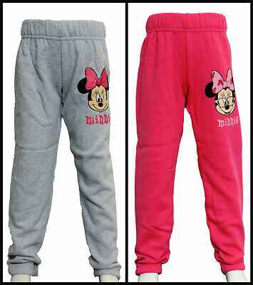 Girls Disney Minnie Jogging Pants/track bottoms/sweat bottoms age 4-10 years