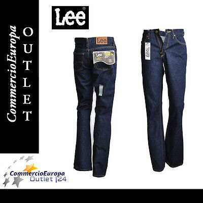 3f4cc193ee JEANS LEE DONNA PANTALONI GIRL A ZAMPA WOMAN TG 40 w27 flare regular fit  zip fly