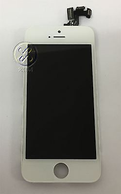Original White iPhone 5S 5 S LCD Digitizer Screen Replacement+Front Camera