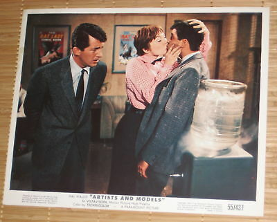 """Paramount 1955 Press  Release  """"artists And Models"""" Martin - Lewis -- Maclaine"""