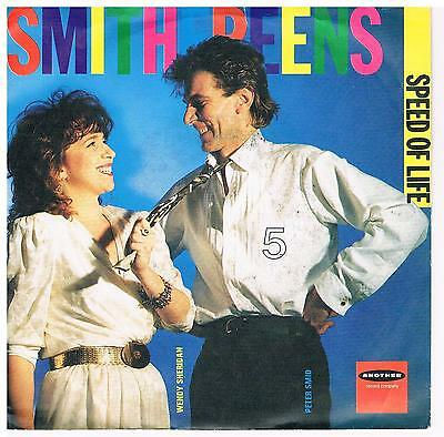 "Smithereens-Speed of life/Trouble in mind/7"" Single von 1985"