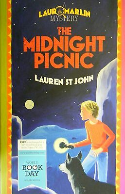 The Midnight Picnic  Laura Marlin Mystery by Lauren St John World Book Day  2014