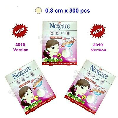 3M Nexcare ACNE CARE Patches / Stickers 3 packs - 300 pcs (0.8cm) - New Version