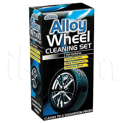 Car Pride Alloy Wheel Cleaning Kit Set