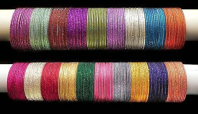 New Indian Trendy Coloured Plain Bangle Style Bollywood Matching CostumJewelry