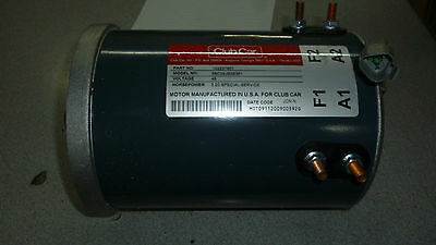Electric Motor 48v Club Car PowerDrive + 1997 and up 102237801 DISCONTINUED
