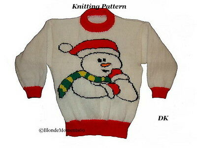 Christmas Jumper Knitting Pattern Book : ChildS Christmas Jumper Knitting Pattern - Cardigan With Buttons