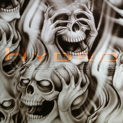 5 Sq Meters - HYDROGRAPHIC FILM HYDRO DIPPING WATER TRANSFER FILM SEE NO EVIL