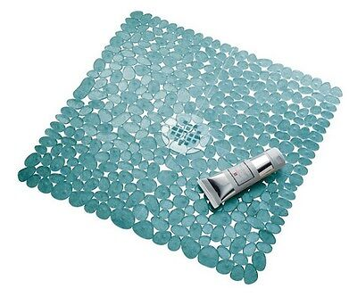 Bathtub Safety Mat Non Slip Floor Shower Stall Vinyl With Suction Cups Square
