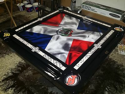 Domino Tables by Art Dominican Flag Domino Table
