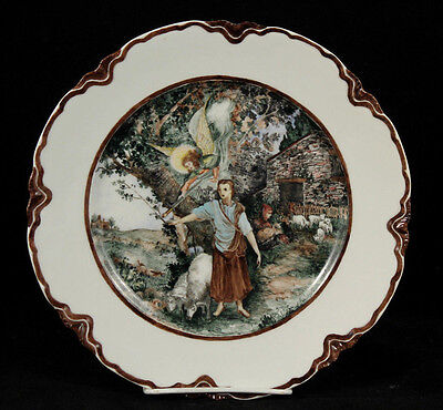 "Antique/Vintage Haviland France ""Joan of Arc"" Plate Signed by Artist Made 1945"