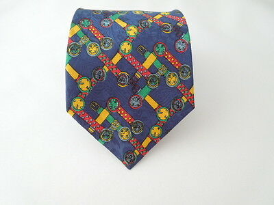 100% Seta Pura Silk Tie Seta Cravatta Made In Italy  4677