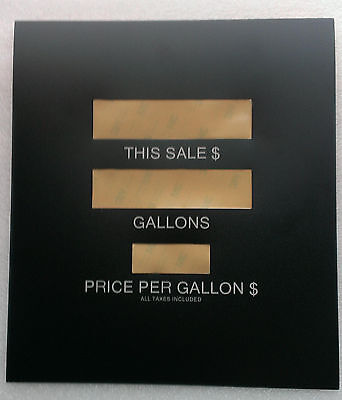 Gilbarco T18783-G7 Advantage main display overlay, package of 6, $8.50 each