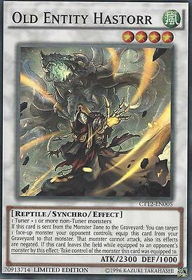 Yu-Gi-Oh Card: Old Entity Hastorr - Super Rare - Ct12-En005 - Limited Edition