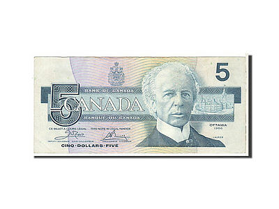 [#112048] Canada, 5 Dollars type 1986, Pick 95a1