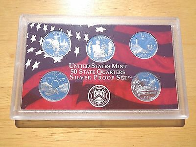 2003 S SILVER Proof State Quarter Set  No Box or Coa Nice Coins