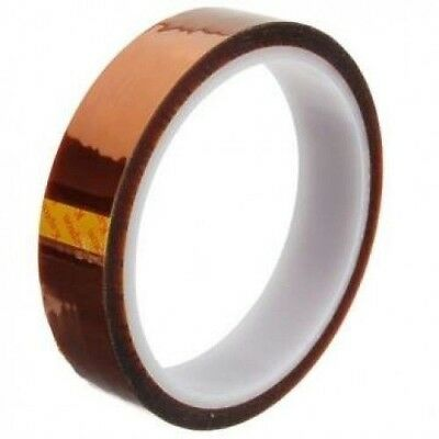 20mm High Temperature heat Resistant Kapton Tape Polymide BGA 100ft