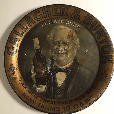 Vintage 1930's Gallagher & Burton Tip  Tray