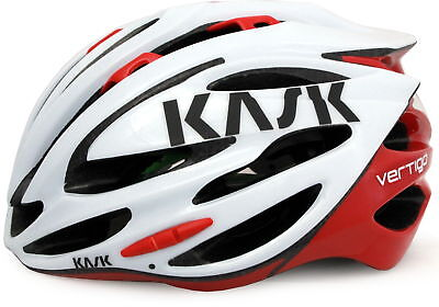 Kask Vertigo 2.0 Road Bike Helmet White/red 2015