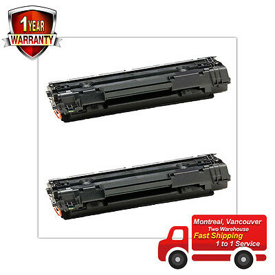 2PK Toner Cartridge for HP 35A CB435A LASERJET P1005 P1006 P1007 P1002 P1003