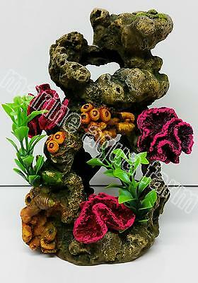 Aquarium Coral Reef Ornament Medium, Marine Reef Fish Tank Decor