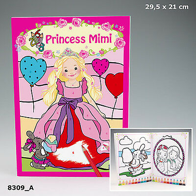 New My Style Princess Colour To Numbers