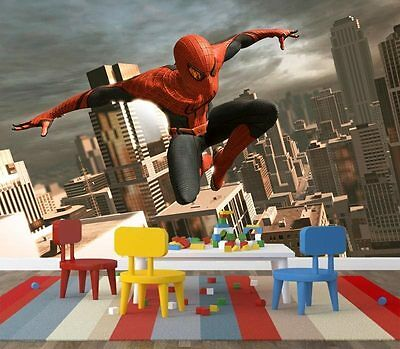 3D Amazing Spider Man Marv Full Wall Mural Photo Wallpaper Print Paper Home Deco