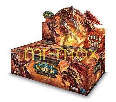 Reign of Fire Display WoW TCG - Spektraltiger Loot? OVP Booster Box