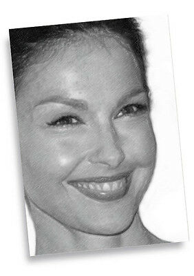 ASHLEY JUDD - Original Art ACEO Card #01