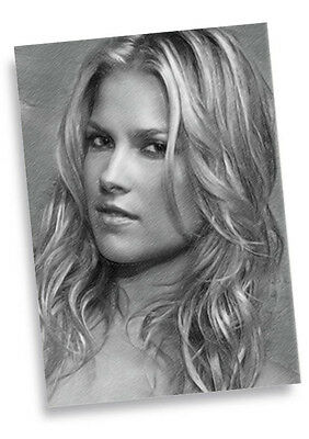 ALI LARTER - Original Art ACEO Card #01