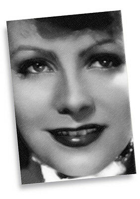 GRETA GARBO - Original Art ACEO Card #03