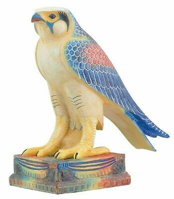 "Ancient Egyptian Decor Falcon Horus Figurine 6.5"" Height Deity Egypt Legend"