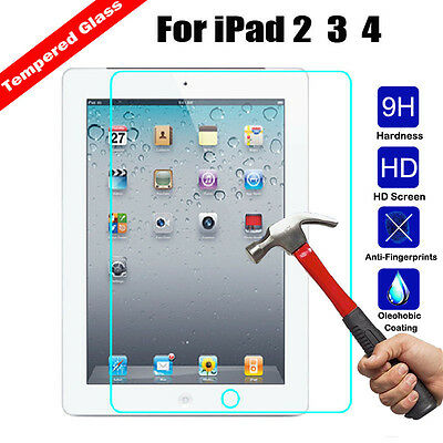 9H+ Premium Real Tempered Glass Screen Protector Flim For Apple iPad Pro 11 2018