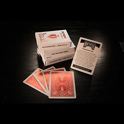 Bicycle Rider Back Crimson Luxe (Red) by US Playing Card Co Poker Spielkarten