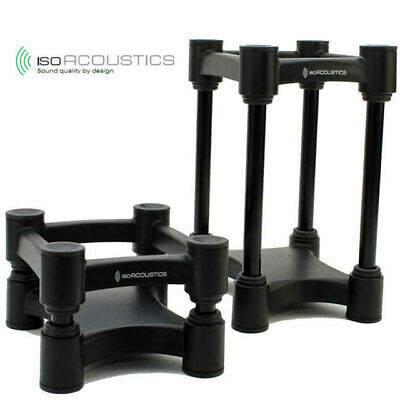 IsoAcoustics ISO-L8R130 studio monitor speaker stands Pair