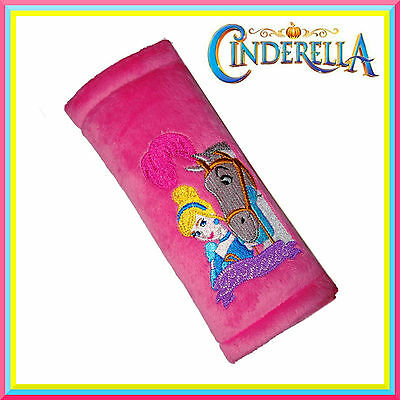 Safety Belt Pads ❀ Genuine Disney ❀ Car Seat Belts Cover for Kids ❀ Cinderella