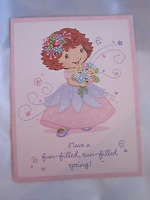 Strawberry Shortcake Greeting Card Fun Filled Spring Time Lot of 3 New