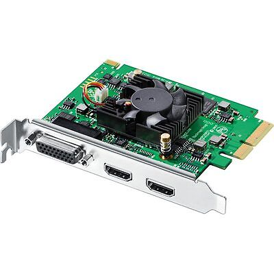 Blackmagic Intensity Pro 4K Capture and playback for PCIe computers in NTSC/PAL
